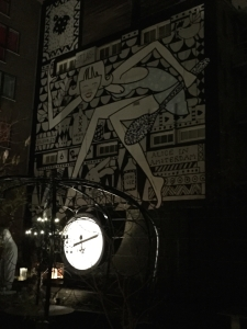 Andaz courtyard at night - 1