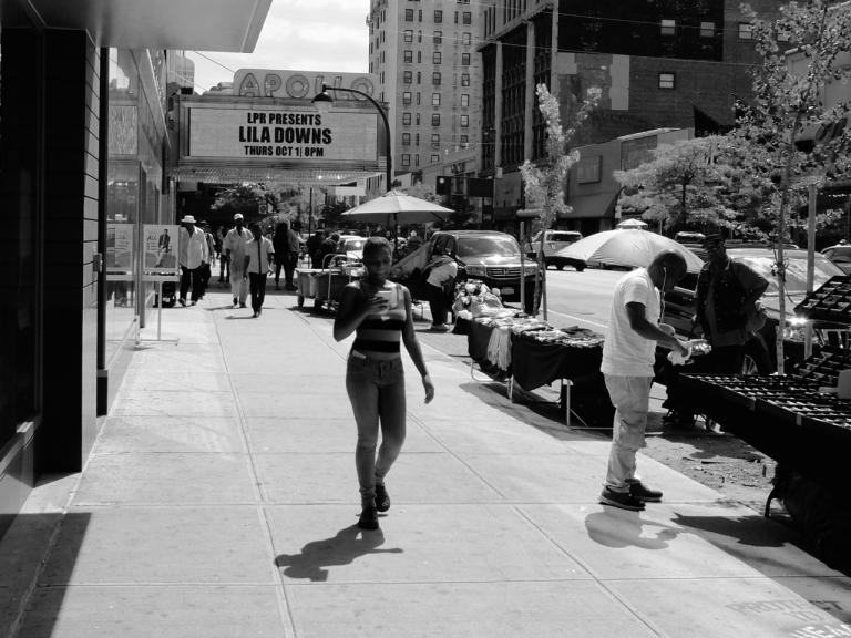 The Apollo Theater on 125th Street