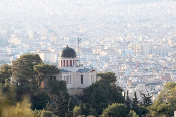 The Observatory. Near Fillopappas Hill.